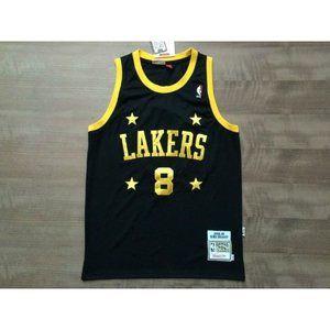 Los Angeles Lakers #8 Kobe Bryant Black Jersey 1